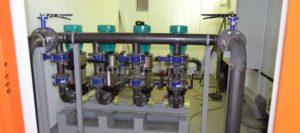 Монтаж и демонтаж канализационных насосных станций (КНС)